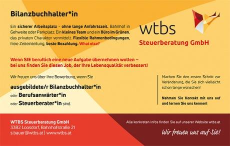wtbs sucht Bilanzbuchhalter