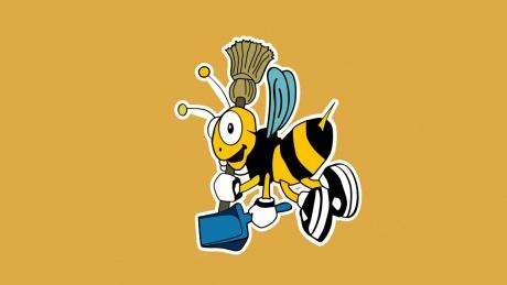 Logo von Die Reinigungsbiene e.U.