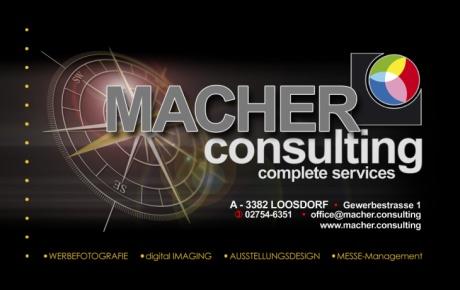 MACHERconsulting - Spezialist für Fotografie, Messe & Ausstellungsdesign
